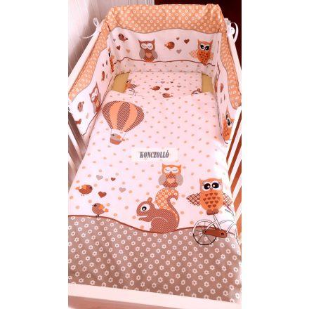 Baba ágynemű szett bagoly 1