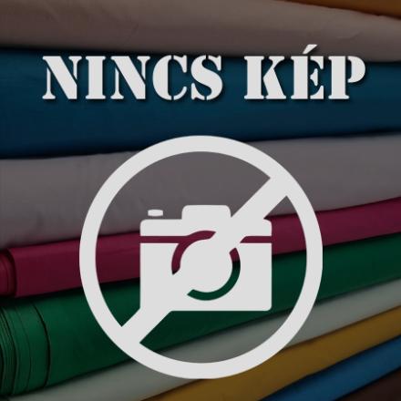 100 % pamut vászon ágynemű szett, kék apró virágos-hátoldala kék pöttyös